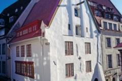 Dwelling house 14th century in Tallinn