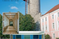 ikk Herman Tower and Toompea Castle - The Parliament of Estonia